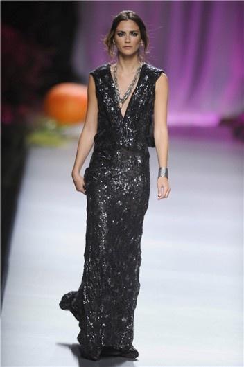 MBFWM: Francis Montesinos verano 2013, vestido de noche