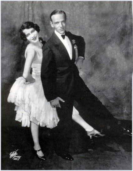 Fred and Adele Astaire in Lady Be Good. Dance legends :') More