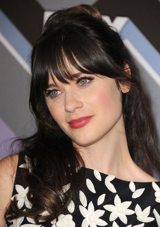 Celebrity Bangs and Fringes -- BeautyRiot.com