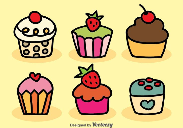 Best 25+ Cupcake Vector Ideas On Pinterest