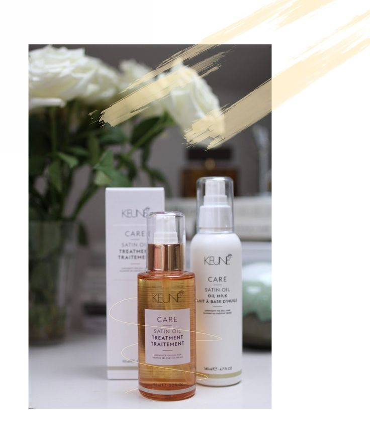 First Impressions: Keune Care Satin Oil Serie
