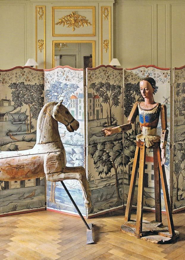 love..Rocks Hors, French Interiors, Folding Screens, French Country Style, Fleas Marketing, French Blue, French Antiques, Style At Home, Wooden Hors