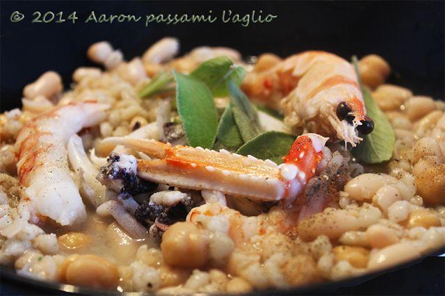 """Aaron passami l'aglio"": MES-CIUA ARRICCHITA (CON CROSTACEI E SEPPIE)"