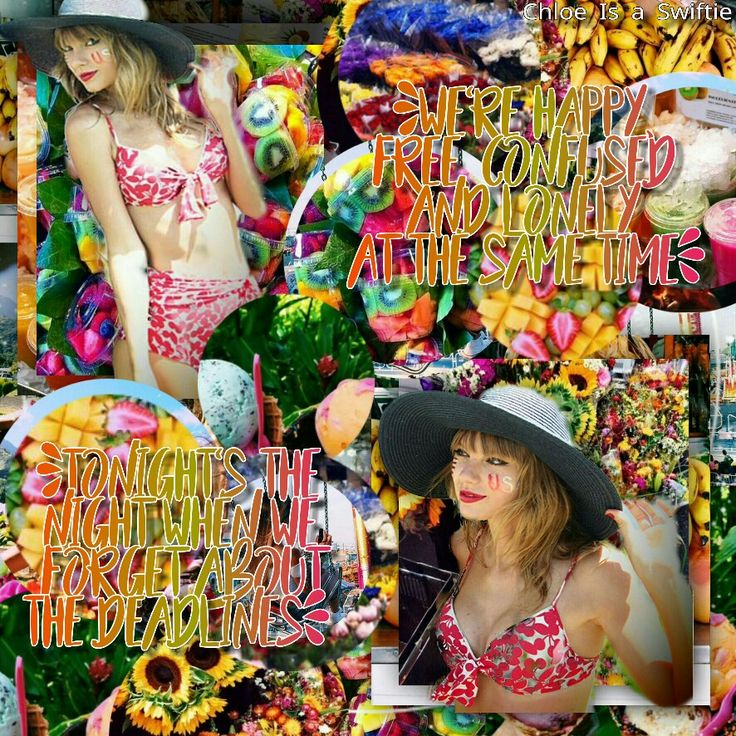 Taylor Swift 22 lyric edit by Chloe Is a Swiftie