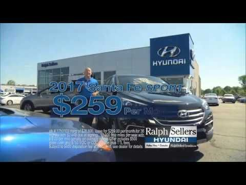Lease a Brand New 2017 Hyundai Santa Fe Sport for only $259 a month for ...