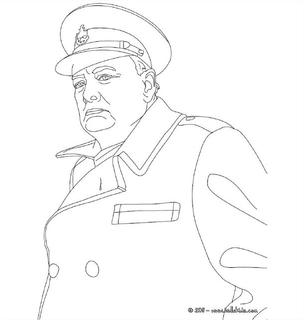Winston Churchill People Coloring Pages Coloring Pages 3d