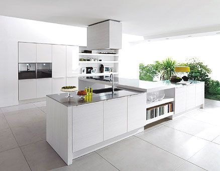 Modern White Kitchen Cabinet Design best 25+ white contemporary kitchen ideas only on pinterest