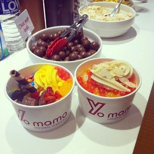 Froyo toppings, anyone?