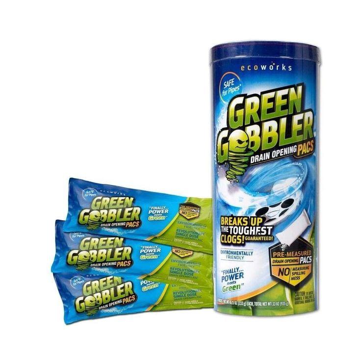 Best Drain Opener to Open Clogged Toilet Shower Bathroom Kitchen Bathtub Sink #GreenGobbler