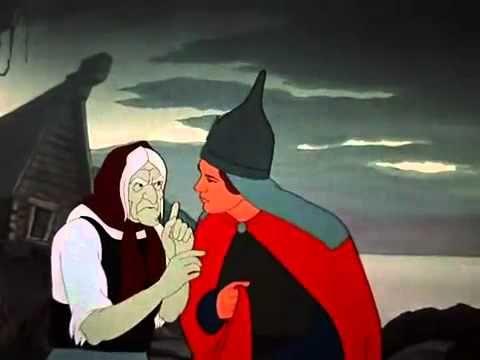 """Царевна-лягушка - YouTube """"The Frog Princess"""" - 1954 Russian Animation"""