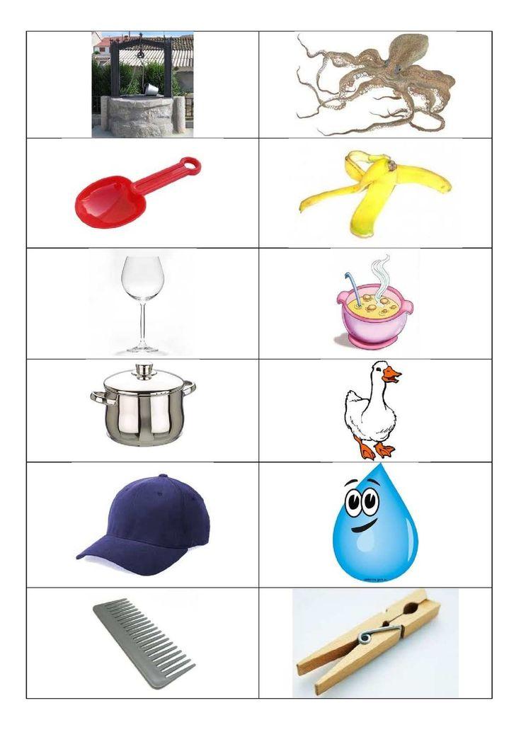 Classificació d'imatges segons si el fonema que canvia es troba a l'inici, al mig o al final de la paraula.
