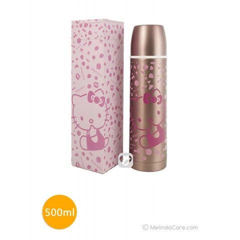 Botol Minum Anak Sanrio Termos Hello Kitty 500ml Rp. 110.000  kunjungi: www.melindacare.com atau hubungi 081321148408 dan 765BEE5E