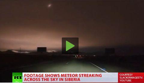 Τρομακτική έκρηξη μετεωρίτη στη Σιβηρία (videos)