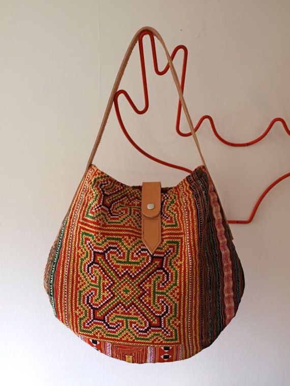 too cute.  Holly Tribal Bag by Brown Graham.