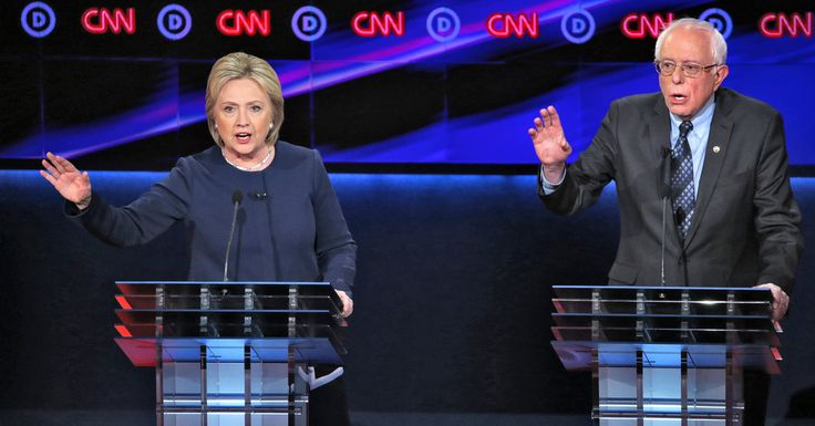 In Democratic Debate, Bernie Sanders Pushes Hillary Clinton on Trade and Jobs