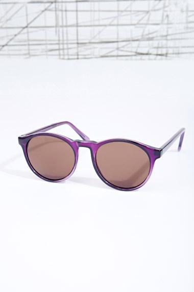 Grad School Sunglasses in Purple at Urban Outfitters