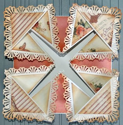 Whiff of Joy - Tutorials & Inspiration: Fold card by Sonja    LOVE this intricate card!