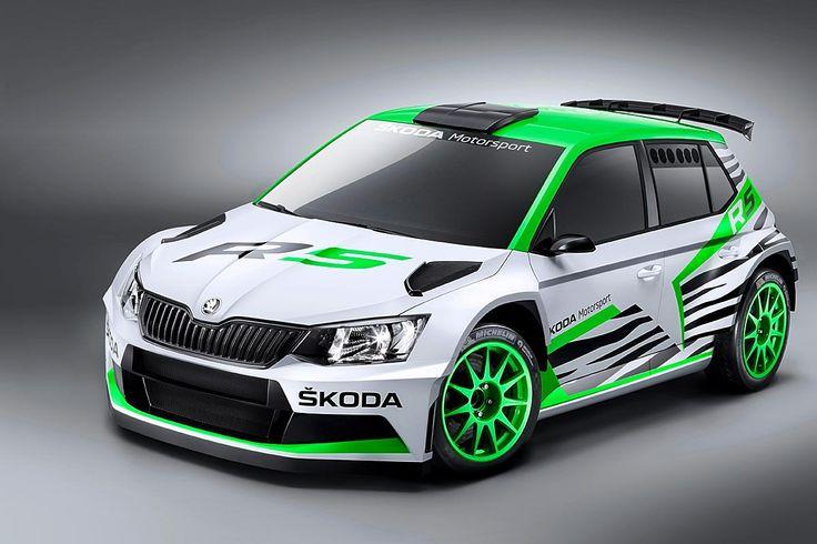 Neben Esapekka Lappi soll auch Pontus Tidemand in der WRC2 kräftig die Werbetrommel für den neuen Skoda Fabia R5 rühren.
