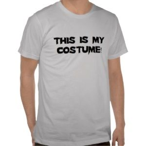 This Is My Costume Shirts | Best Halloween Costumes & Decor