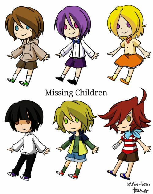 Five nights at Freddy's <<< oooooooh the missing children :3