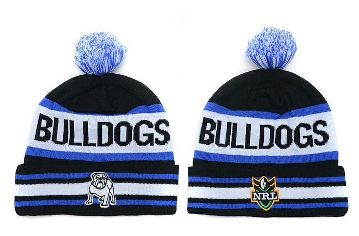 NRL Canterbury Bulldogs Beanies (1) , wholesale for sale  $6.9 - www.hatsmalls.com