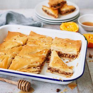 Mince Pie Baklava - Pastry Recipes - Jus-Rol