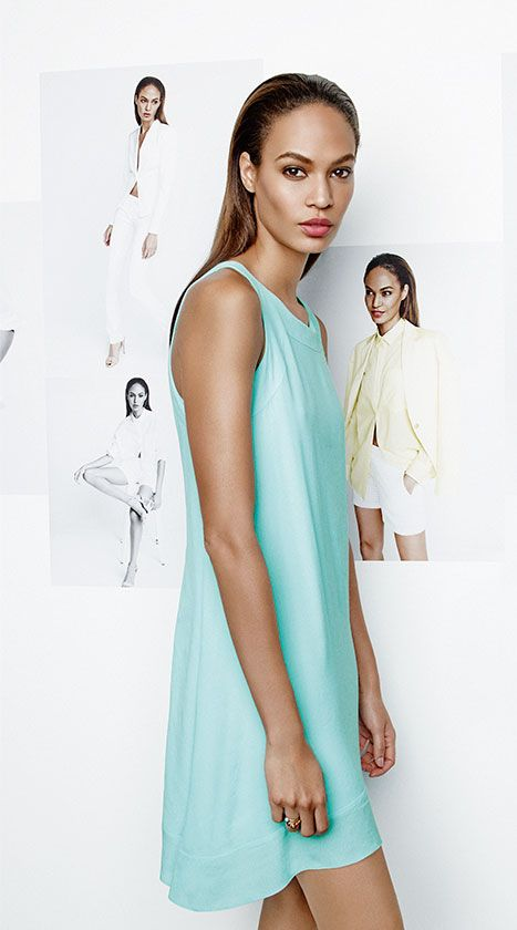 Summer is a breeze in this dress. Joan Smalls for Studio.W SS14