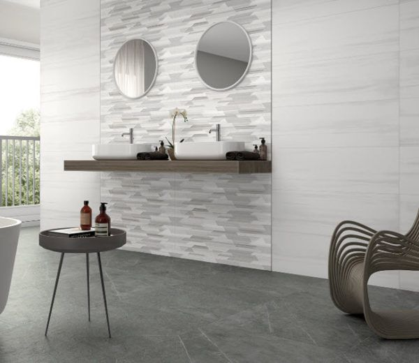 Reimagine Your Bathroom With White Wall Tile Introductions In 2020 White Wall Tiles Contemporary Bathrooms White Walls