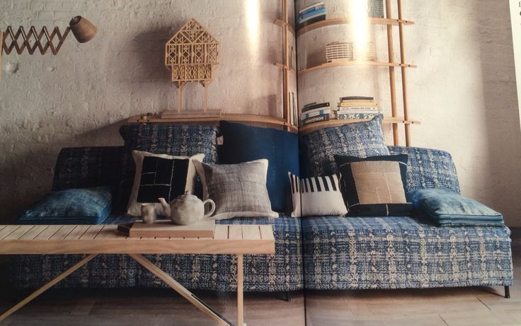 Sofa Vizir Bycaravane Covered In 39 Favialla 39 By William Yeoward For Designers Guild Arm