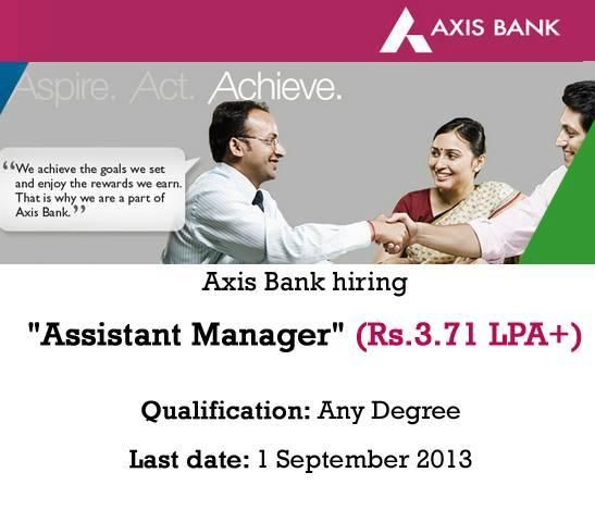 axis bank job in chennai
