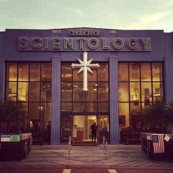 Church of Scientology's L.A. Headquarters Serving as Midterm Polling Station :: Voters were required to pass Scientology members handing out promotional leaflets. By Seth Abramovitch via The Hollywood Reporter.