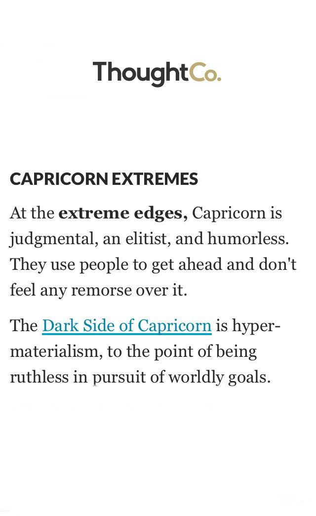 Darkside Zodiac: Capricorn