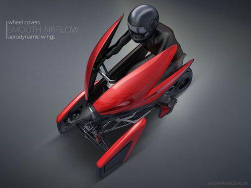 Tulip est un véhicule personnel électrique qui se distingue par sa conception modulaire. Pensé pour les déplacements au quotidien, le concept préfigure l'avenir de la mobilité personnelle en milieu urbain.