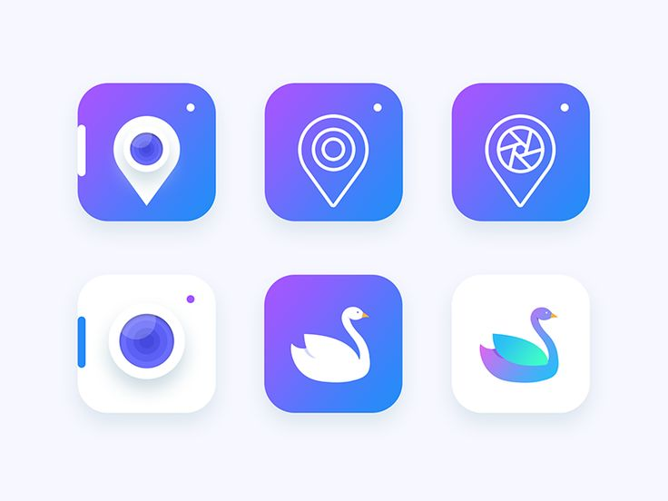 Location based Photography app icon Exploration by Prakhar Neel Sharma #Design Popular #Dribbble #shots