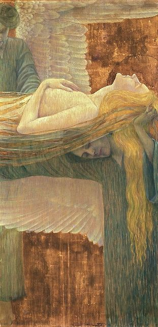 Wilhelm List (Austrian, 1864-1918), On Angels' Wings