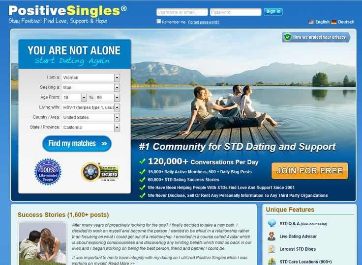 Live dating website #1
