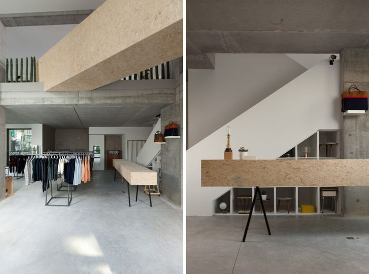 Schön JDS Architects Design Siblings Factory Store In Brussels
