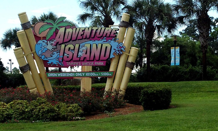 Adventure Island Water Park, Tampa, FL.