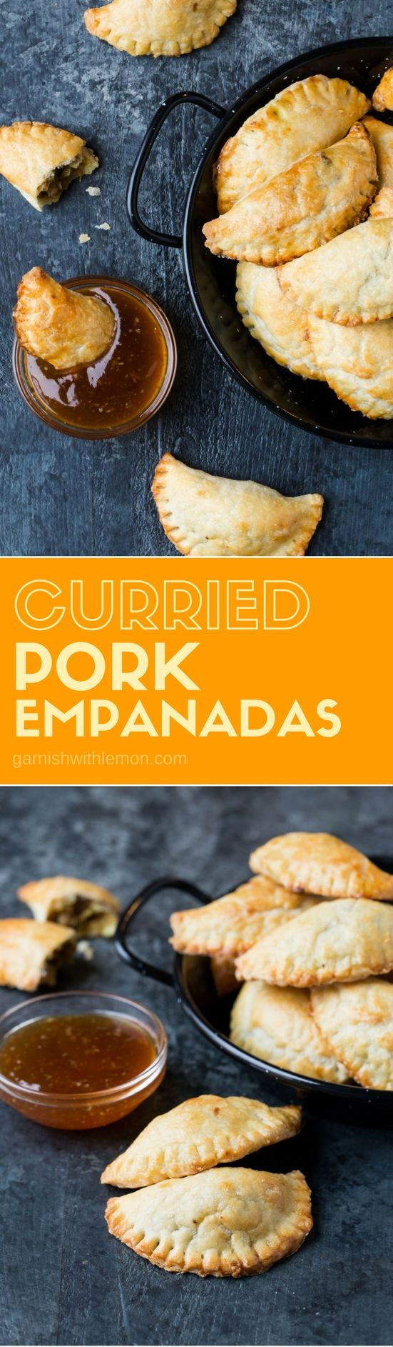 Add some flavor to your appetizer spread with this recipe for homemade Curried Pork Empanadas. Dunk them in a dipping sauce and watch them disappear!