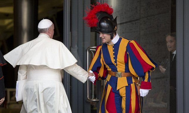 Swiss Guards produce cookbook on Pope's favourite meals