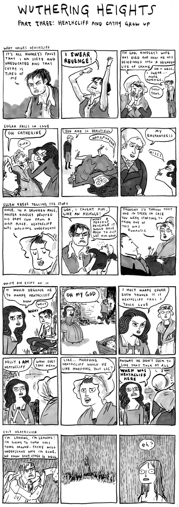 If you enjoy history and classic literature and you've never read this comic, YOU SHOULD.