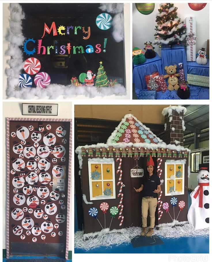 Christmas decorations 2016/Gingerbread House/Office Christmas decorations