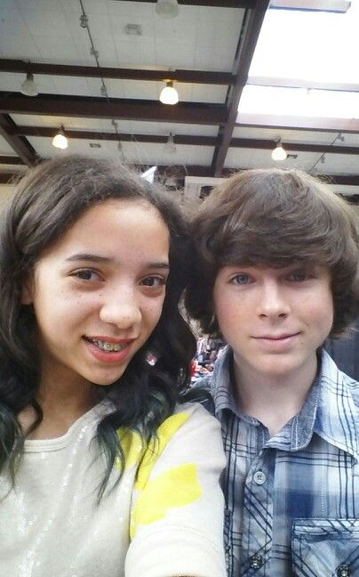 79 best the walking dead images on pinterest the walking dead i got to meet chandler riggs he plays carl grimes in the m4hsunfo