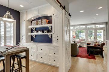 Modern Bungalow - craftsman - home office - minneapolis - Great Neighborhood Homes