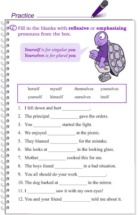 Grade 4 Grammar Lesson 8 Kinds Of Pronouns