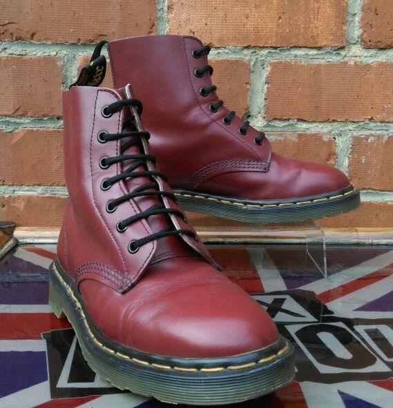 Vintage Dr Martens Oxblood 1460 Boots Uk 6 Martins Skin