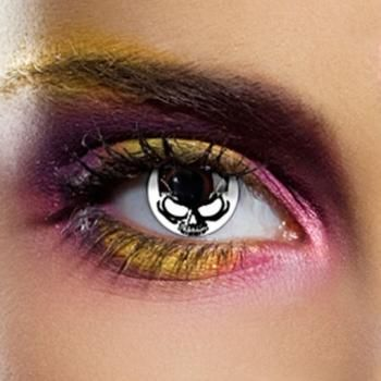 I found 'Skull Special Effects Contact Lenses' on Wish, check it out!