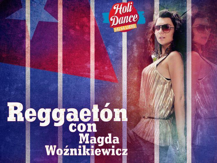 Reggaetonowy HoliDance z Magdą :) Intensywnie od poniedziałku do piątku - 5 zajęć o 18:00 w SL