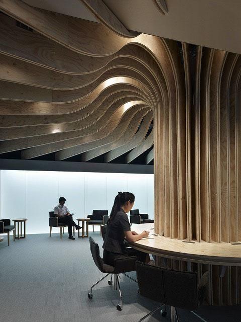 Oita Airport Lounge by Takao Shiotsuka
