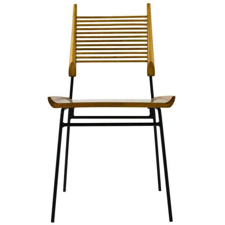 Paul McCobb Ladder Back Chair 1950 | From a unique collection of antique and modern chairs at http://www.1stdibs.com/furniture/seating/chairs/